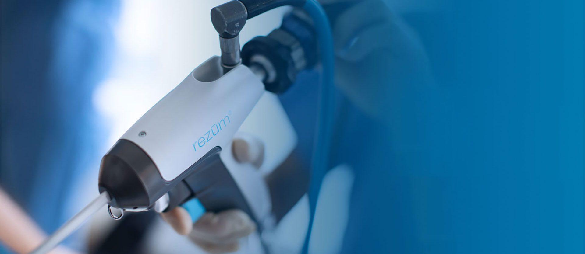 Wasserdampftherapie mit dem Rezum TM-System